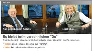ZDF-Sendung zum Vorfall