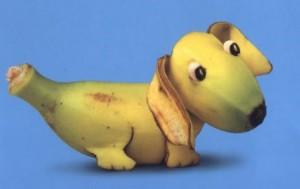 Ich bin eine Banane