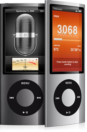 einstellung ipod nano